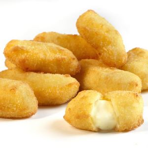 breaded white cheddar cheese curds 5 lbs walleye direct